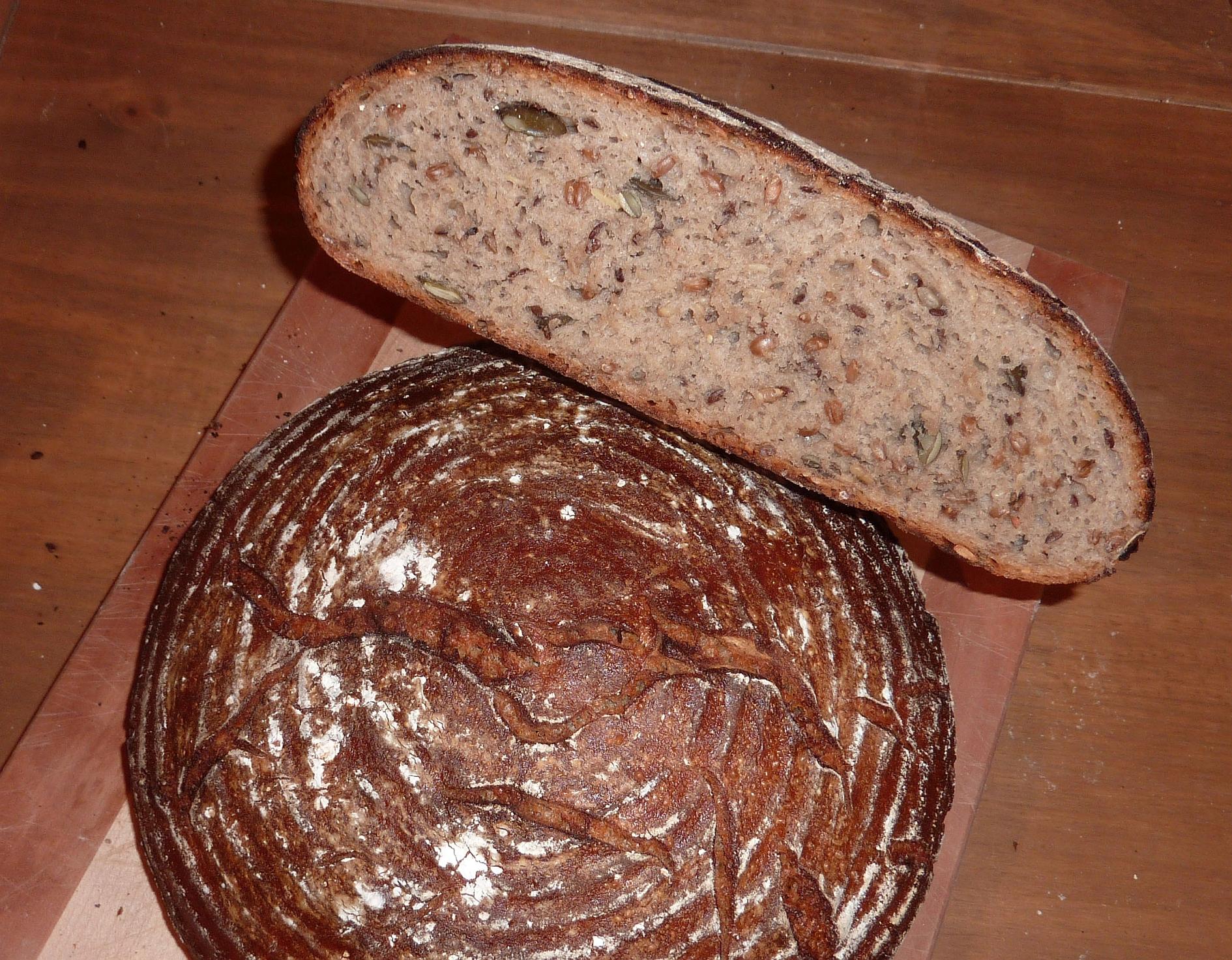 Roggenmischbrot-Körner-Saaten 2