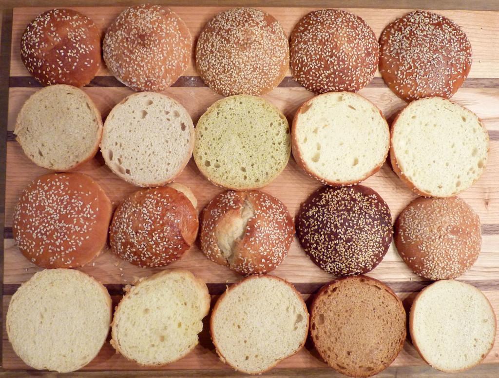 Burger-Brötchen-Buns