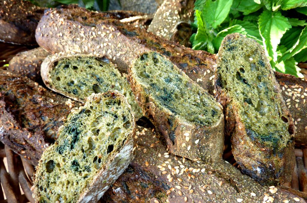 Brennnessel-Brot