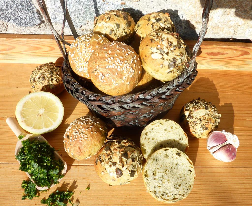 Gremolata-Brötchen