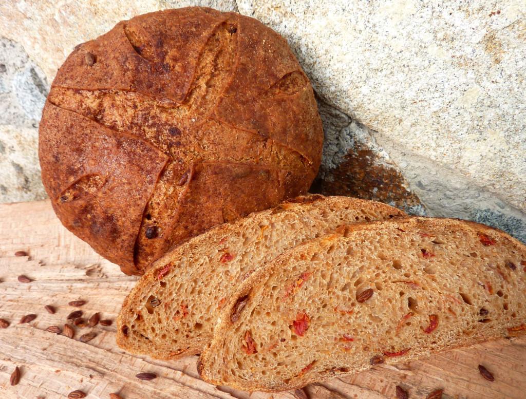 Olivensamen-Brot